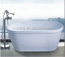 New design modern acrylic solid surface cheap copper bathtub with whirlpool massage