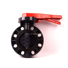 4 inch factory price valve irrigation pvc wafer plastic butterfly water valves types