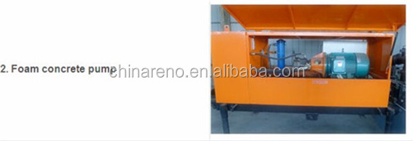 widely used lightweight foamed concrete block machine
