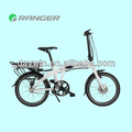 small folding electric biciycle with pedal or throttle bar