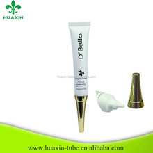 Skin Whitening Cream Cosmetic Tube With Horn Hood