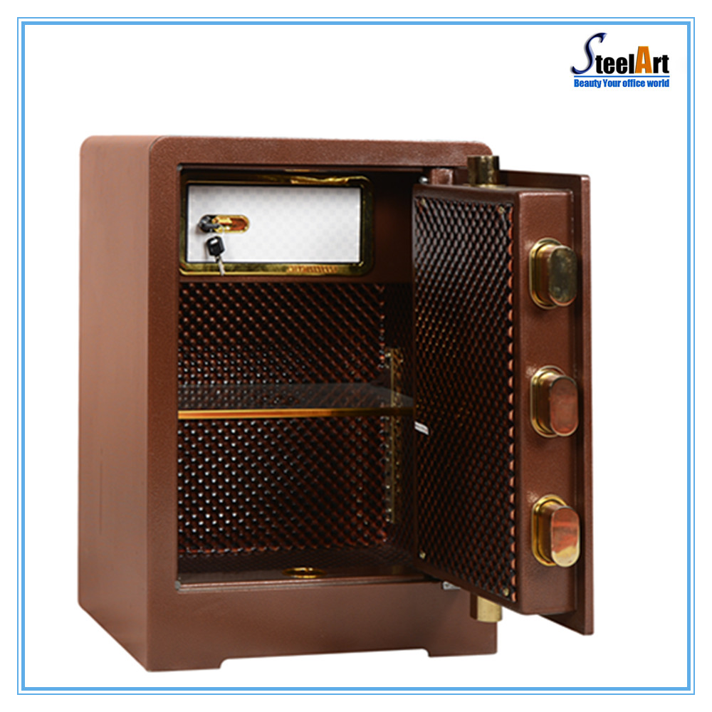 All types size metal security safe box for hotel usage design