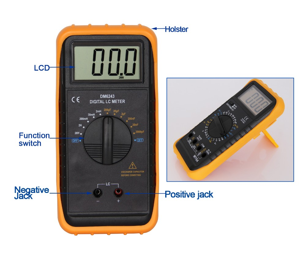 Popular Capacitance Inductance Meter DM6243