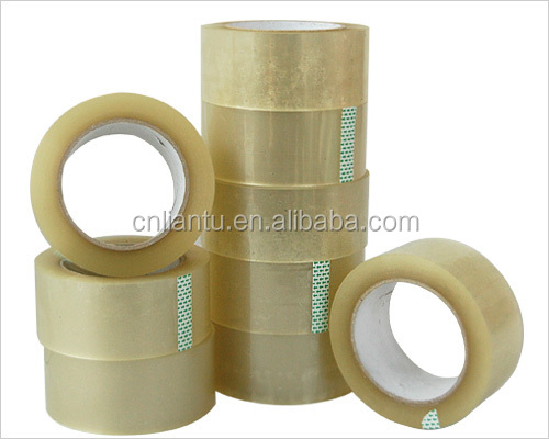 clear yellow glossy tapes sealing packing stationery