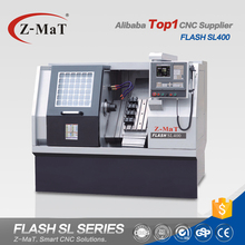 Top1 manufacturer Flash SL400 automatic metal cnc turning center mini lathe