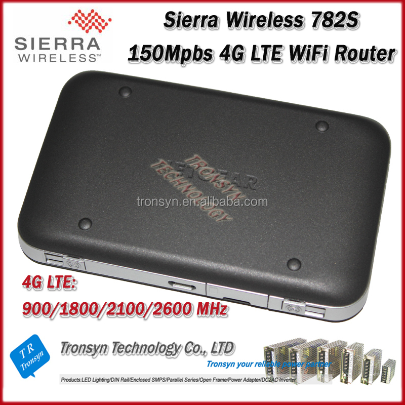 2014 New Arrival Original Unlock LTE FDD 150Mbps Sierra Wireless Aircard 782S 4G LTE WiFi Router