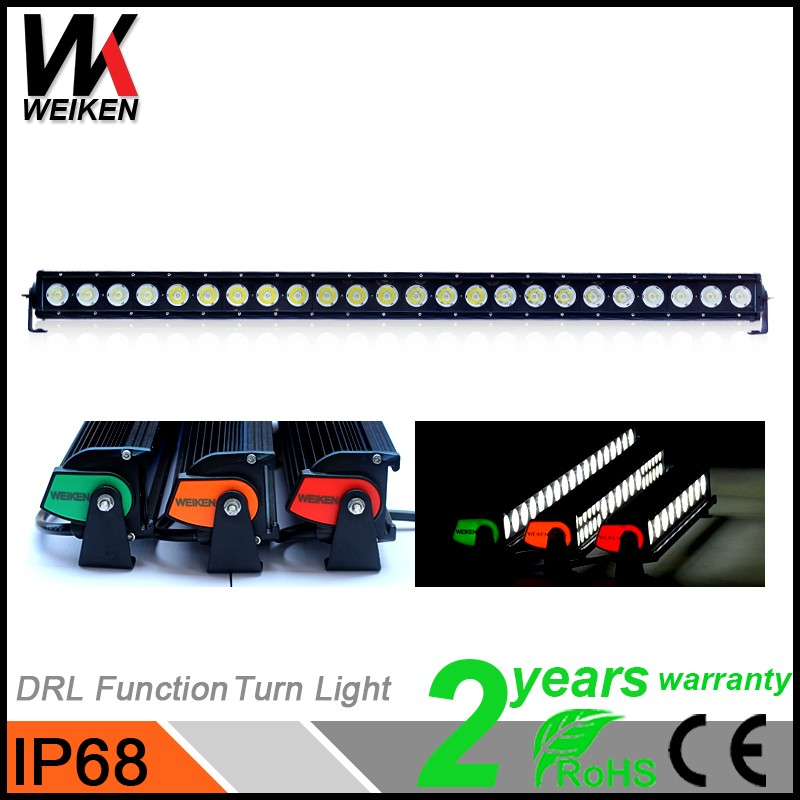 41inch 240w Colorful LED Light Bar Cover/ Auto LED Front Light/ Turn Warning Light