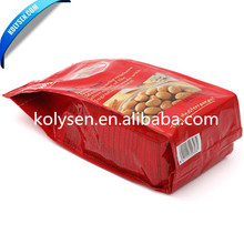Plastic pouch side gusset flexible packaging for biscuit pouch