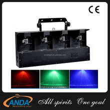 Heat Selling!!! DJ Stage Effect Lighting 4 Heads RGBW Scan Light