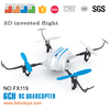New FX119 2.4G 4.5CH 6-axis upside down 3D inverted flight rc quadcopter rtf with LED light