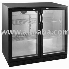 Individual y doble puerta de cristal display neveras con - Neveras doble puerta ...