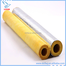 9mm Thickness Foam Insulation Heat Thermal Insulation High Density Pipe Building Material Glasswool Insulation