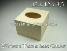Wooden Tissue Box Cover, Cube, Square, Absolutely BEST PRICE
