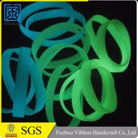 Glowing Silicone Rubber Bands Bright In