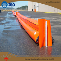 1000d flame retardent pvc coated tarpaulin for oil spill containment boom