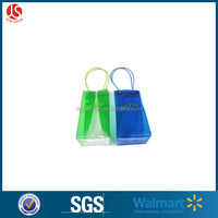Colorful PVC Clear / Printed Wine Ice Cooler Bag for Beer / Wine