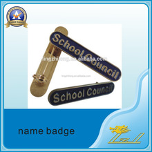 Customized School Council Logo pretty Name Badge