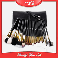 MSQ Personalized 18 pcs Goat Hair Makeup Cosmetic Brush Set
