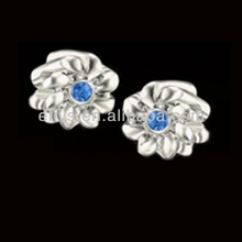 2013 Top Rated Shining Crystal Silver Charm Wholesale