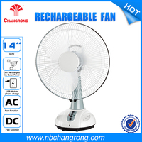 Custom oscillating Rechargeable table Fans
