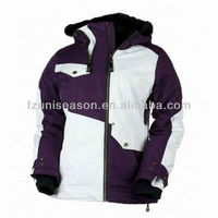 Women plus size snowboard jacket