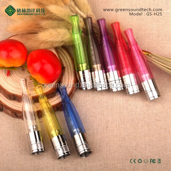New Spring center H2s dual heating clearomizer pen vaporizer 510 clearomizer