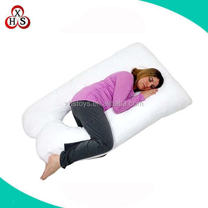 Factory new OEM design full body sleeping pregnancy wedge pillow