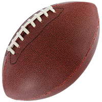 Basketball Leather PU PVC American Football With Rubber Bladder