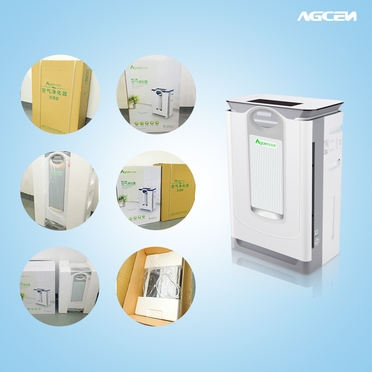 Eco-friendly portable intelligent air washer humidification
