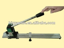 Manually operated Creasing Matrix Cutter with measuring tape