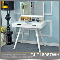 New design bedroom furniture vanity dressing table with mirror