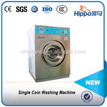 Professional automatic tokens coin operated double stack washer and dryer for sale