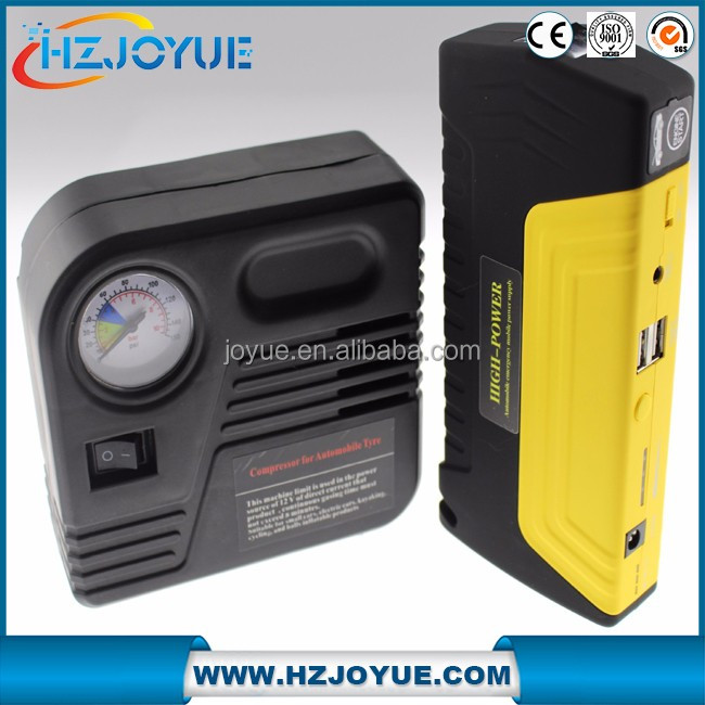 Factory Price High Quality Emergency Car Power 12v Automobile Starting jump starter with air compressor