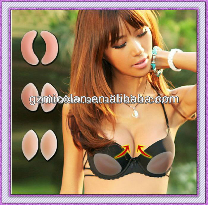 Bra Inserts Push Up Breast Pad Bikini Enhance