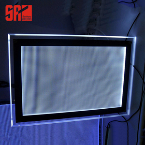 Anti-pollution LGP led panel light guide backlit panel