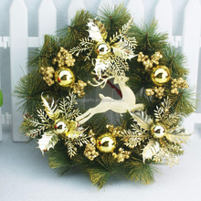 2015 New Fashion Ornaments Decoration Indoor/Outdoor Gorgeous Christmas Wreath