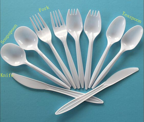 Plastic Spoons Forks and Knives