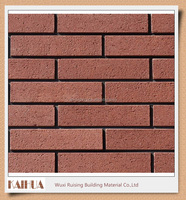 Cheap building material red decorative face brick
