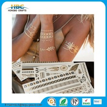 design self adhesive bracelet glitter metallic gold sexy eye nake woman body skin safe temporary tattoo sticker