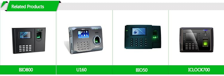 Office Equipment Color Screen USB ID Card Fingerprint Employee Time Tracker Device ( HF-X628)
