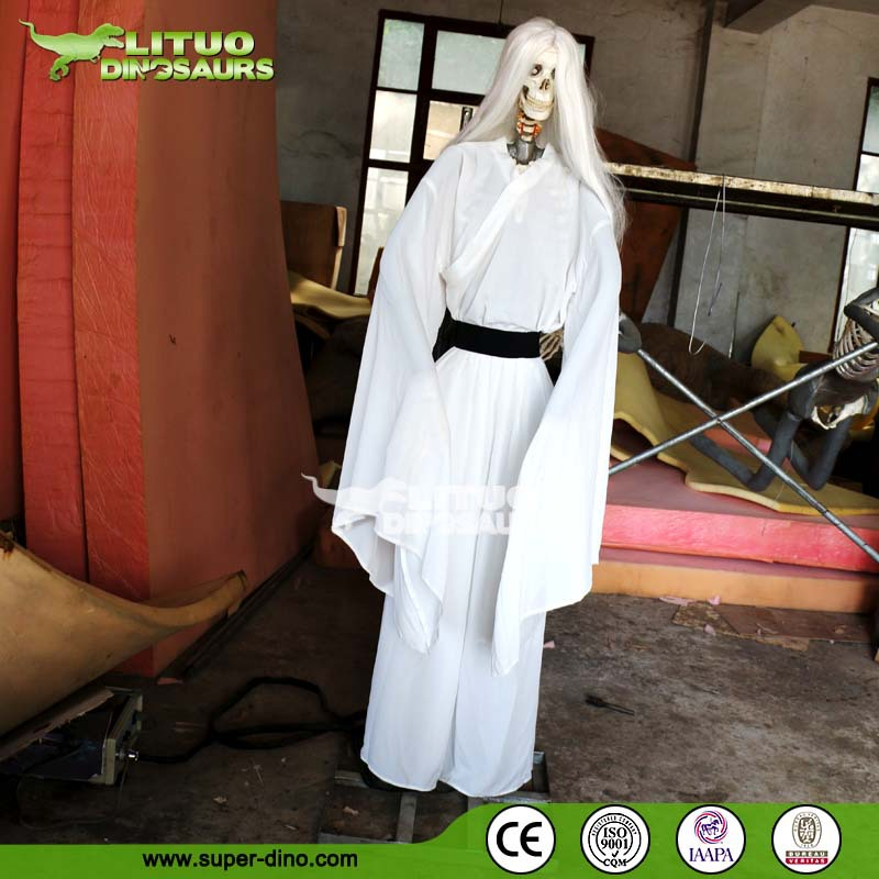 Horrible Haunted House Life Size Ghost Model