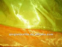 100 polyester jacquard satin,dragon design