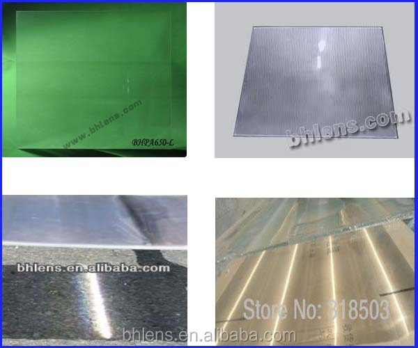 PMMA Large Optical Linear Fresnel Lens