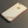 Newest Fashion Luxury Ultra thin Electroplating Soft Diamond Tpu Cell Phone Cases For iPhone 6 6S