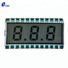 small custom segment TN 3 digit LCD display