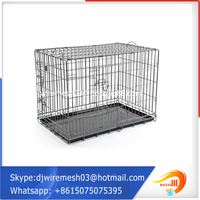 2016with massive market Big capacity metal foldable pet cage dog house dog cage