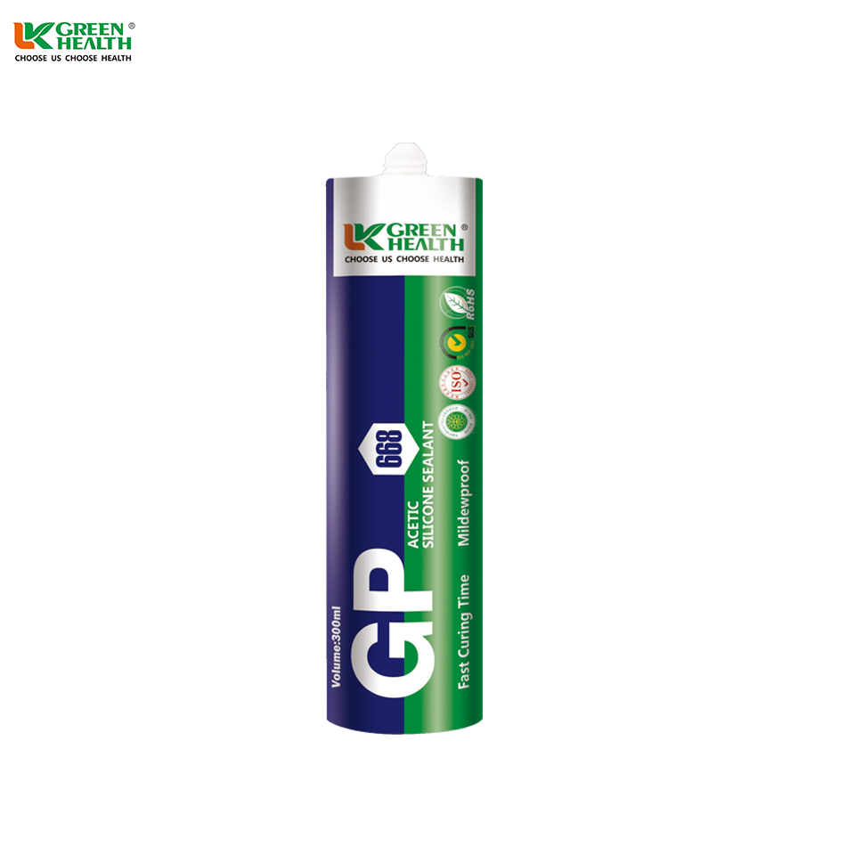 One Component Quick Dry General Purpose Silicone Sealant