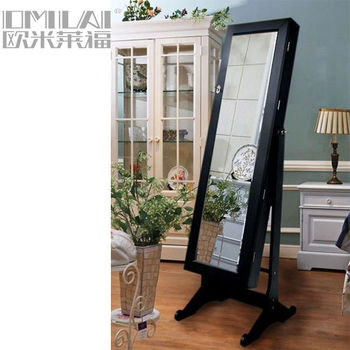 home furniture jewelry armoire with dressing mirror