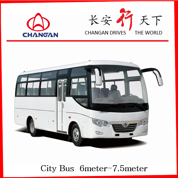 Changan Bus 6608BF Diesel commins mini bus