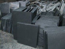 Black Slate Exterior Wall Cladding Stone